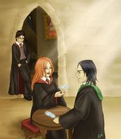 HP Lily Severus - Levitation by artisteri