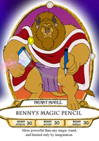 Benny's Magic Pencil Spell Card by BennytheBeast