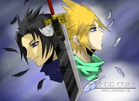 Final Fantasy VII Crysis Core by tomato18