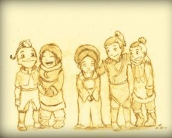 Avatar: Old Friends- Miniaturized by EnergyBender