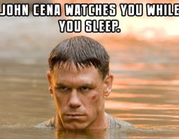 CENA WATCHES YOU. by aleramicci