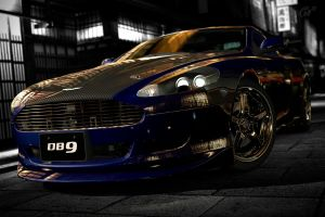 Aston Martin DB9 Custom 4 by NightmareRacer85