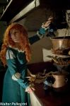 Merida, what are you doing? by Giuly-Chan