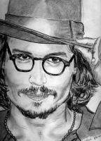 Johnny Depp by idahidaya