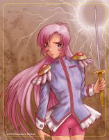 Utena Fanart by clarence-mcgraw