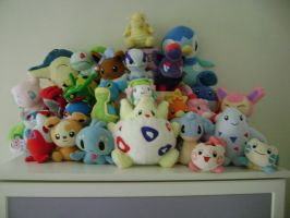 PokePlushie Collection by ThunderRotom