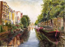 Reflections of Amsterdam by SRussellart
