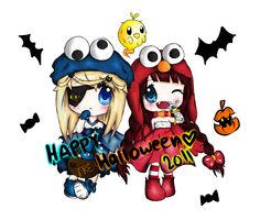 Happy Halloween 2011 by x3urara