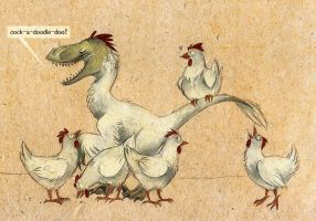 Chickenraptor by Skia