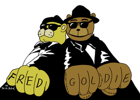 The Bears Brothers (Fastest Fazbear extra) by Negaduck9