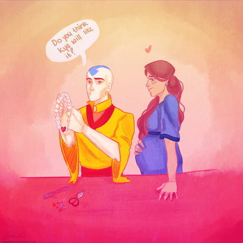 Aang Still Makes Jewelry by annogueras