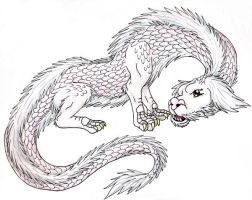Falcor the Flying Luck Dragon by ShikaTheFox