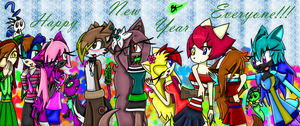 New Years Love by TheMidnightMage