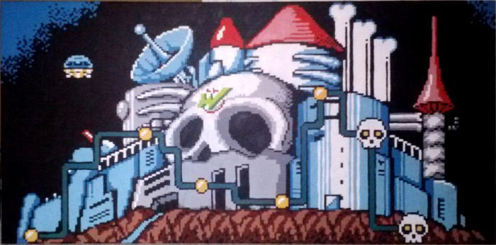 The Castle Of Dr. Wily by Squarepainter