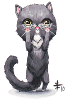 Chibi Kitty II -Fand 10- by AnimeGirlMika