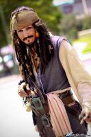 Jack Sparrow by FallingFeathers