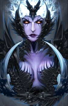 Vengeful Spirit design by Kvnruz