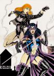Blackcanary And Huntress by gregohq