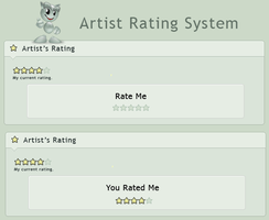 Artist Rating System by AskGooroo