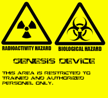 Genesis Device Lab Sign by MLP-Portal