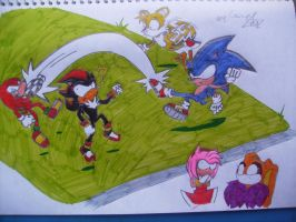Sonic football? by Ad1er