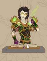WoW Gold Commission: Vialshi by MischiArt