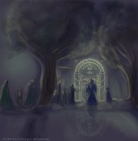 Entrance to Moria by BrookeSpencer