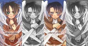 SnK: EreRi Freedom Bookmarks by YummySuika
