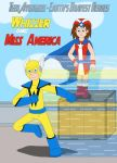 Whizzer and Miss America by MCsaurus