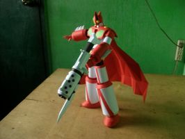 Papercraft Getter 1 [Rebuild]: View 2 by MarcGo26