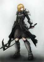 female knight by AltGlanz