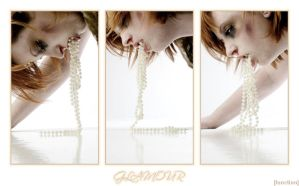Glamour Triptych by tarantulove