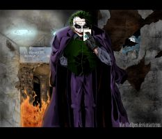 The Joker by blackballpen