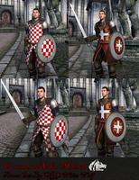 Croat and Serb medieval armor by crowhitewolf