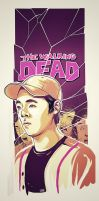 Glenn The Walking Dead by metalsan