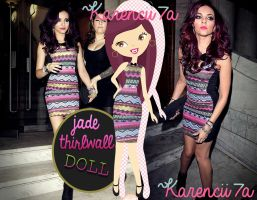 Jade Thirlwall Doll (Png) by Karencii7a