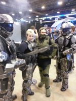 Me as Fleece Chief with ODST Helljumpers by jameson9101322