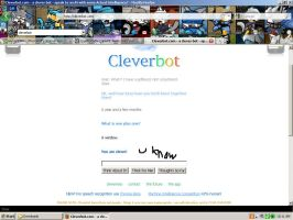 Cleverbot Round 2 by Dragonuv3