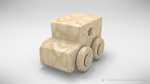 Little Wooden Car Toy by CGSiino