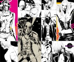Devil may cry 1-4 by myoga-art