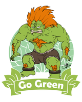 Save the planet.. Go green! by xtremeexe