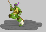 TMNT Donny by GekonniaPL