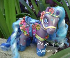 My little pony carousel Angie by AmbarJulieta