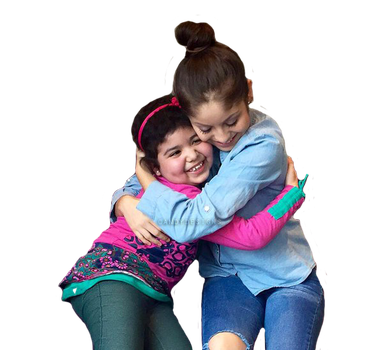 Karol Sevilla Con Una Fan PNG by TutosByCandyDesigns