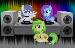 Pixle Tone WoodenToaster And Flute Melony by BronyRD