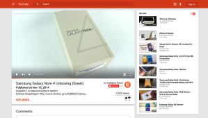 YouTube in Material Design by AppleiGeorge