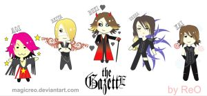 Chibi Gazette by MagicReO