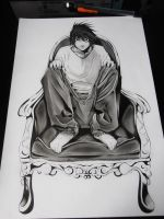 L. Lawliet by SaraDraw