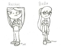 Rachel and Bella by RedJoey1992