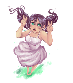 A Nozomi for Spring! by AnneDyari